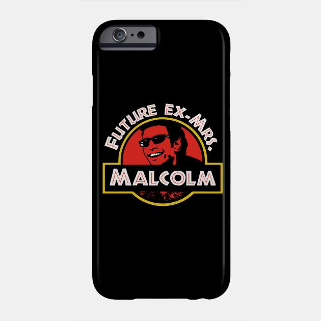 Ian Malcolm 'Chaos' T-Shirt iphone 11 case