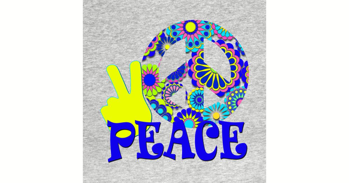 Peace Sign T Shirts Teepublic