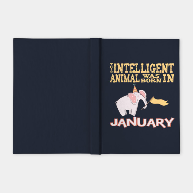 January Birthday Gift Shirt For Intelligent Nerds