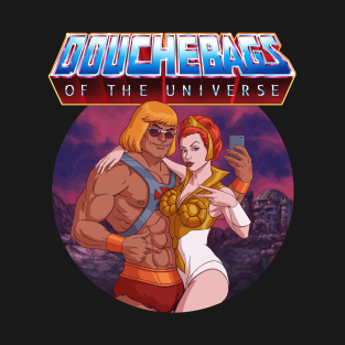 Douchebags of the Universe t-shirts