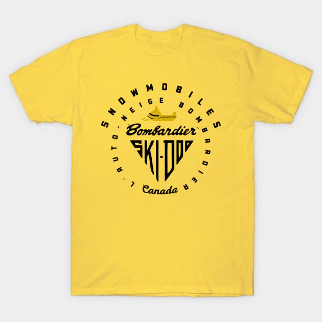 ski-doo snowmobile t-shirt
