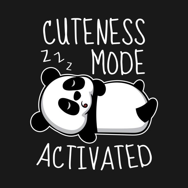 Panda Bear Shirt I Panda Bear Kid Sleeping I Cute Shirts