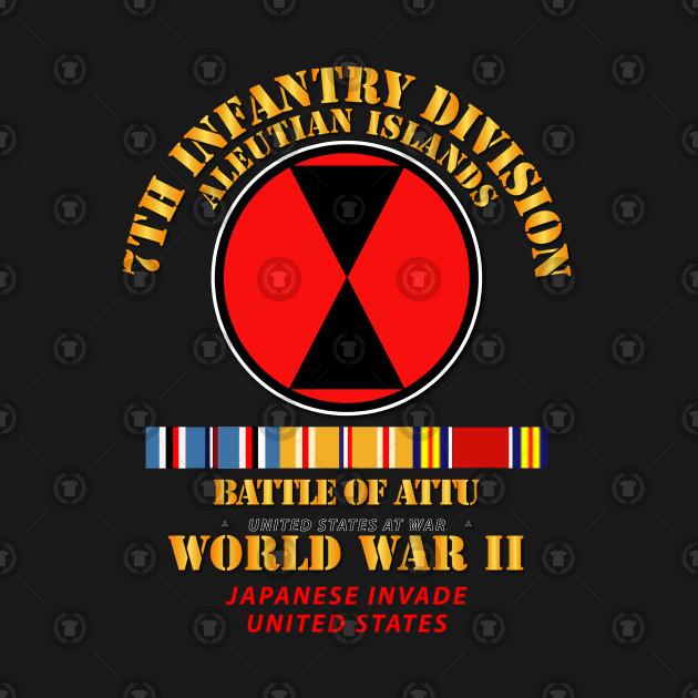 7th ID - Battle of Attu w SVC