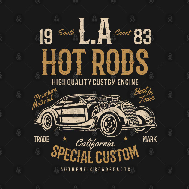 LA Hot Rods: California Special Custom Design