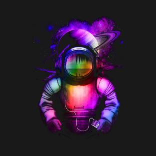 Music in space t-shirts