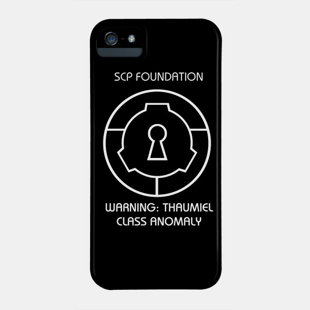 Scp Thaumiel Class Anomaly Warning Scary Spooky Scp Phone Case Teepublic Uk A unique gift or just something special for yourself. teepublic
