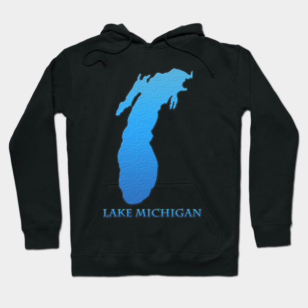 Great Lakes Michigan Hoodie, Michigan Sweatshirt, Great Lakes Shirt