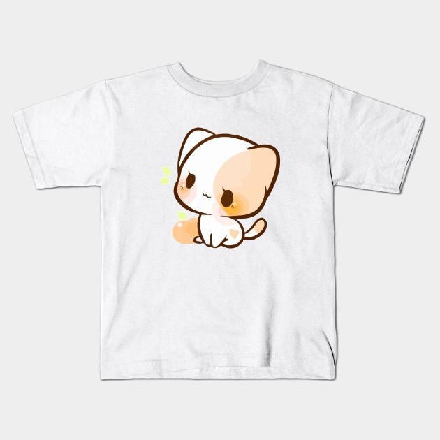 A Chibi Cat Cute Chibi Cat Kids T Shirt Teepublic