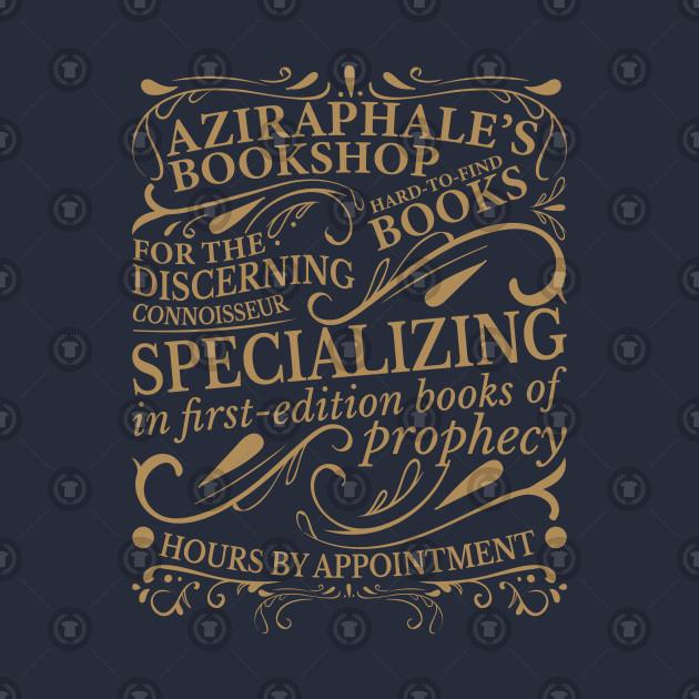 aziraphale bookshop filming location