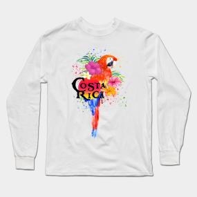 160e1d7c1370a Costa Rica Long Sleeve T-Shirts