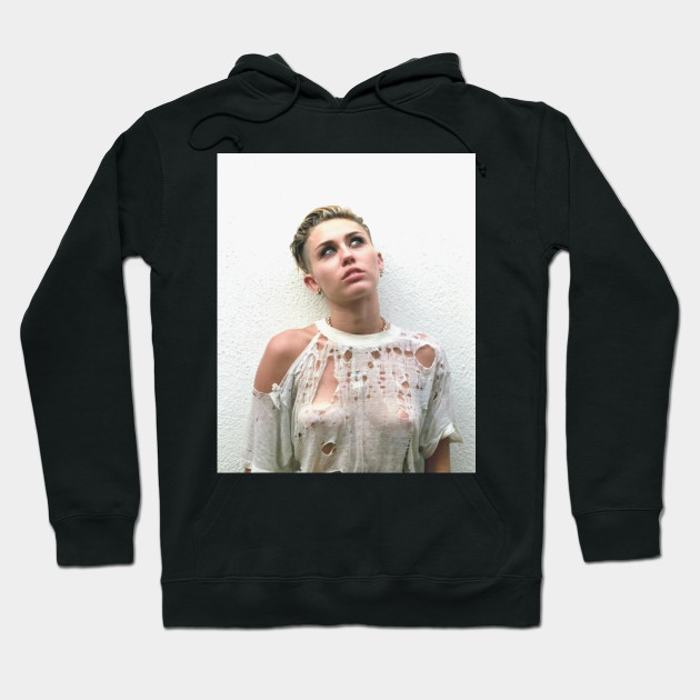New Miley Cyrus T-Shirt Hoodie
