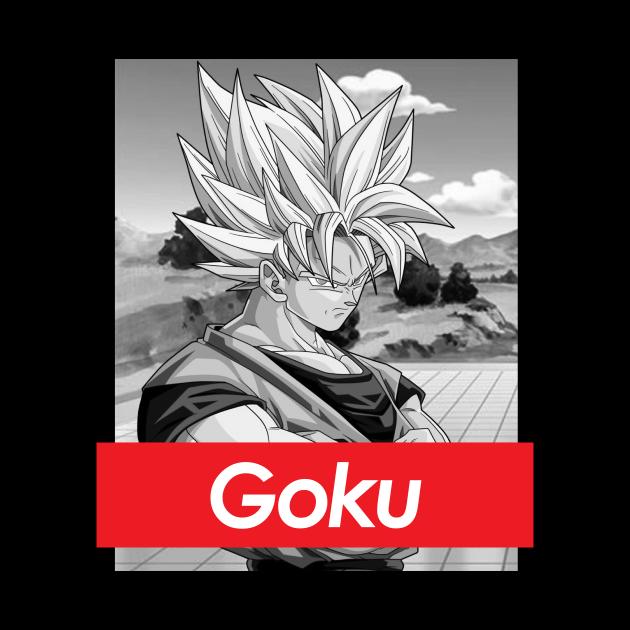 Dragon Ball Z Goku Red Band Logo