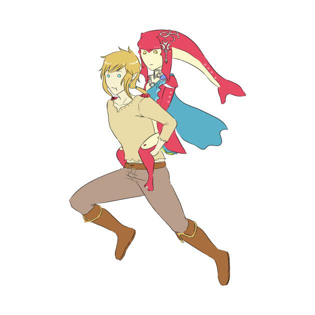 Link and Mipha