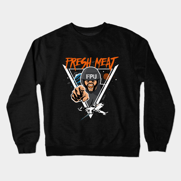 FRESH MEAT - DTOXTV Crewneck Sweatshirt