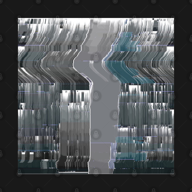 Grey Glitch Artwork