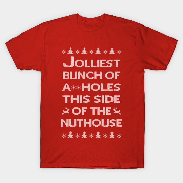 Jolliest Bunch Of Christmas Vacation Shirt National Lampoons