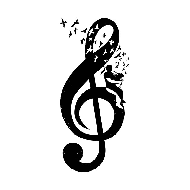 Treble Clef - Bagpipes
