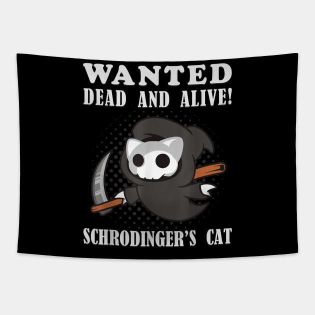reslj schrodingers cat grim reaper science kitty t shirt science realjameswoods schrodingers cat grim reaper science