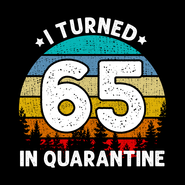 I Turned 65 Years Old In Quarantine 65th Birthday Gift
