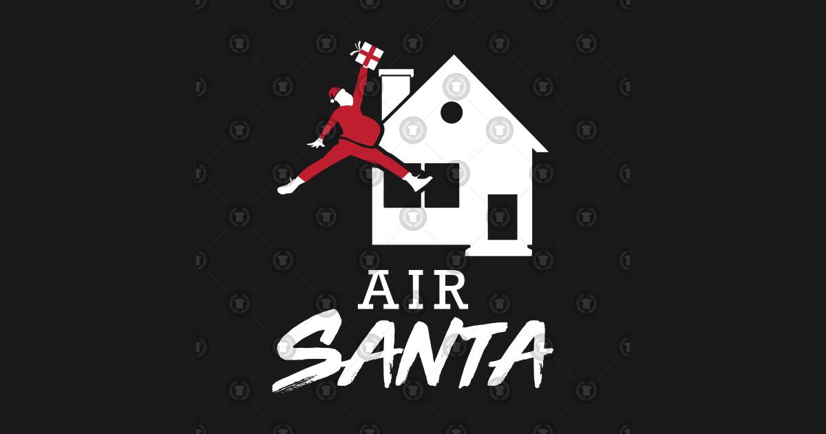 766d58066 Air Santa parody Santa Claus Christmas - Santa - Kids T-Shirt ...