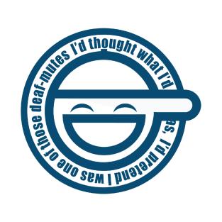 Laughing Man t-shirts