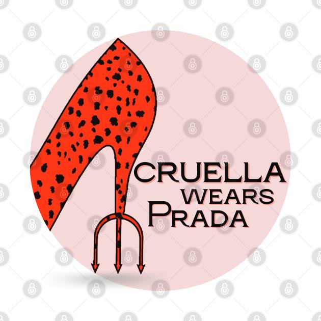 Cruella Wears Prada (dark text)