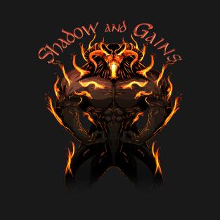 Balrog - Shadow and Gains t-shirts