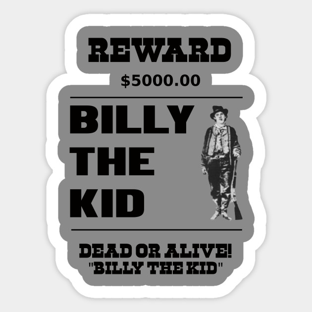 billy the kid criminal wild west cowboy