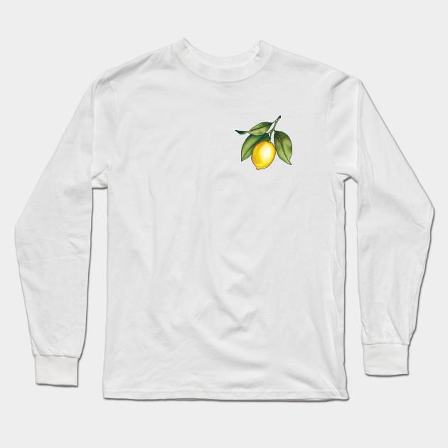 89de5a449a4 Golden Lemon - Lemon - Long Sleeve T-Shirt | TeePublic