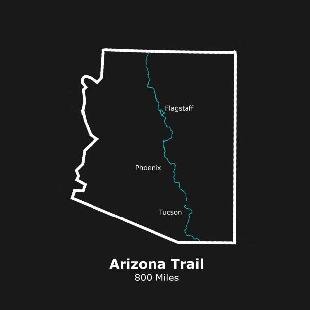 Arizona Trail Route Map