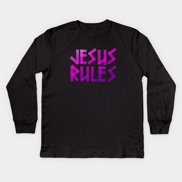 Jesus Rules - Bible - D3 Designs