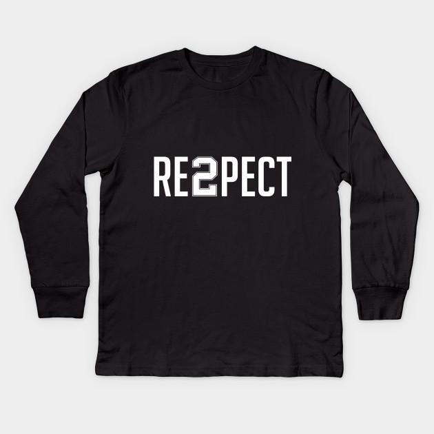 328ecc339 Respect Derek Jeter - Respect Derek Jeter - Kids Long Sleeve T-Shirt ...
