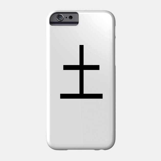 Anime Katakana that says Earth in Japanese Phone Case