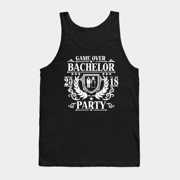 c893908fde603 Mens Bachelor Party 2018 Groom Squad Stag Night T Shirt Gift Tank Top