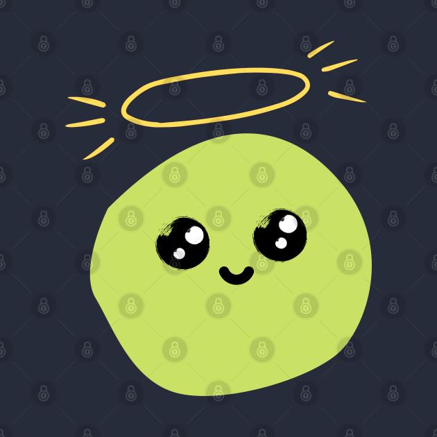 Cute pea friend