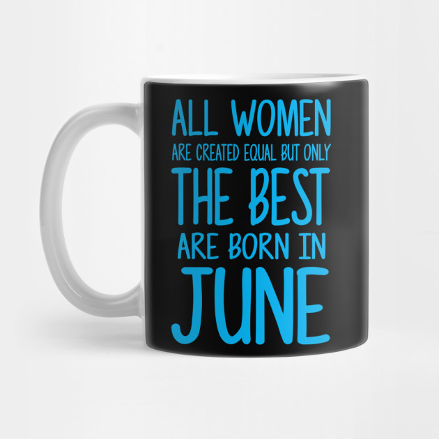 Women Born June Blue