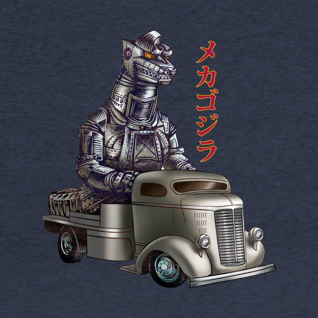 Mechagodzilla Monster Truck