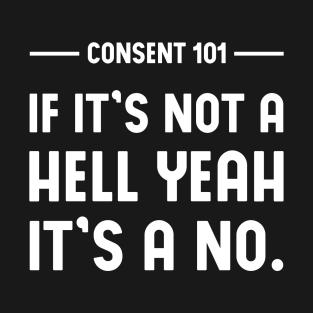 Main Tag Consent T Shirt