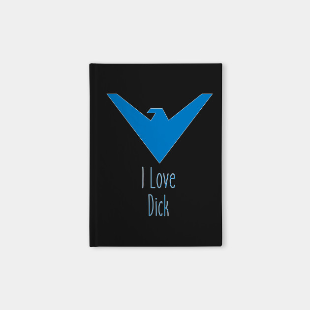 I Love Nightwing (Blue)