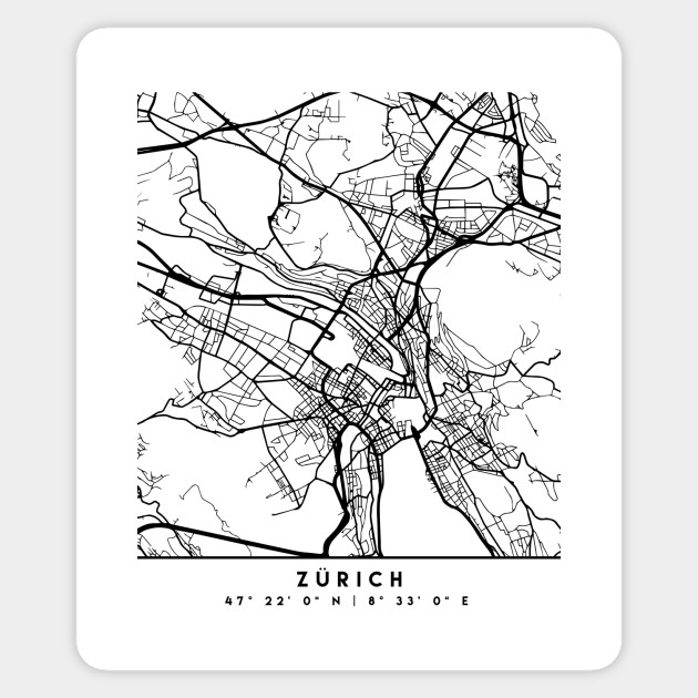 ZURICH SWITZERLAND BLACK CITY STREET MAP ART on europe map, montreux switzerland map, rhine river map, austria map, madrid spain map, zermatt village map, edinburgh scotland map, zurich google map, basel switzerland map, bern switzerland map, zurich language, geneva map, zurich world map, switzerland on a map, seoul korea map, barcelona map, pfaffikon switzerland map, brugg switzerland map, paris switzerland map, france map,