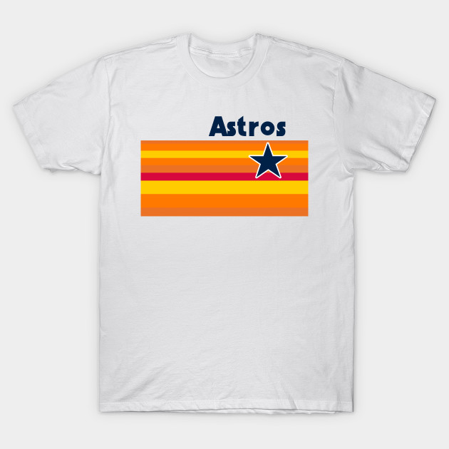 Houston Baseball Throwback Astro Vintage Stripes - Houston Astros ... 87bcd2f1b