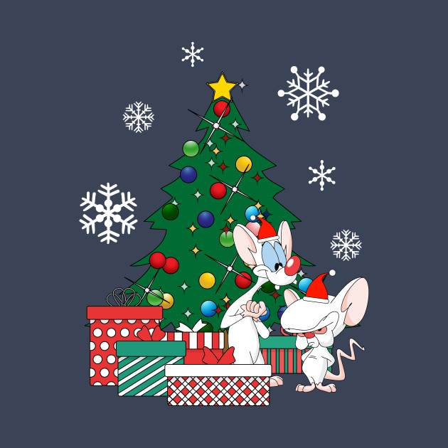Pinky And The Brain Christmas Letter.Pinky And The Brain Around The Christmas Tree