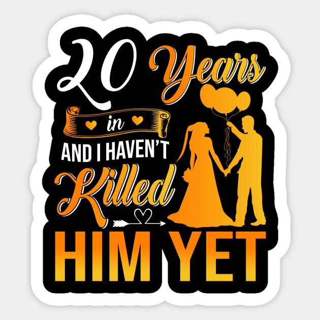 20th Wedding Anniversary Gift Shirt For