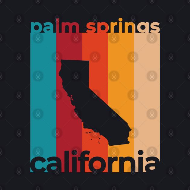 Palm Springs California Retro