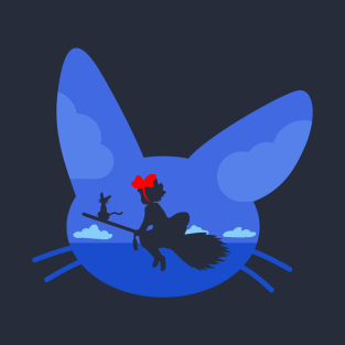 Kiki and Jiji's Flight
