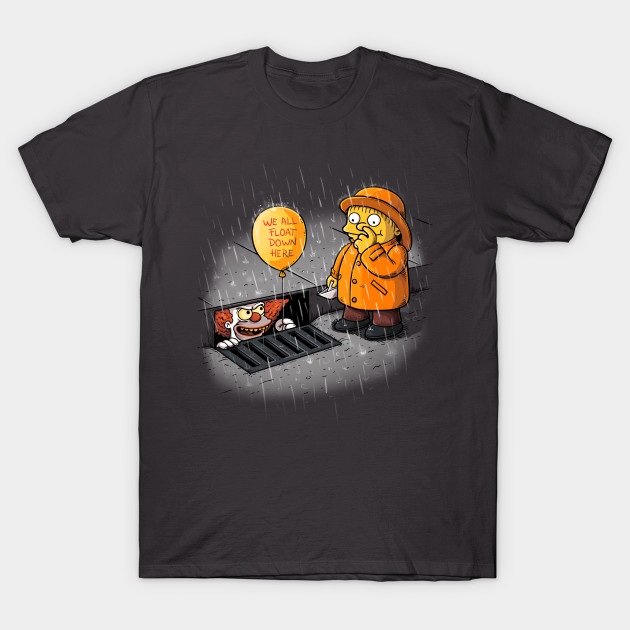 We All Float Pennywise T Shirt Teepublic