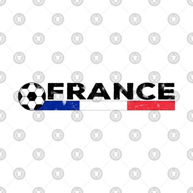 France Flag Soccer Football Fan Jersey