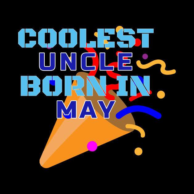 Family Birthday Coolest Uncle Gift T Shirt