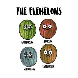 The Elemelons t-shirts