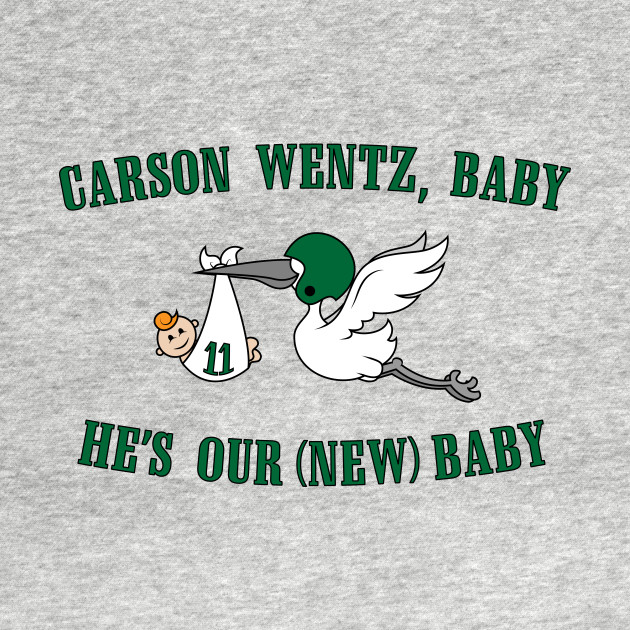 Carson Wentz Baby He's Our New Baby